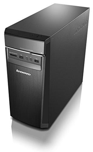 Lenovo H50 Desktop (90B7003NUS) Black