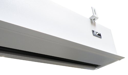 Elite Screens Inc. IHOME150HW2-E12 Evanesce Plus Series In-Ceiling Electric Projection Screen