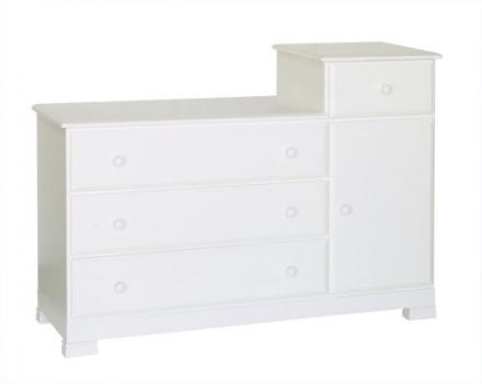 DaVinci Kalani Combo Dresser – White