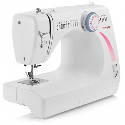 TOYOTA Heavy-Duty Metal Interior STF17 (STF 17) Sewing Machine with 17 Built-In Stitches