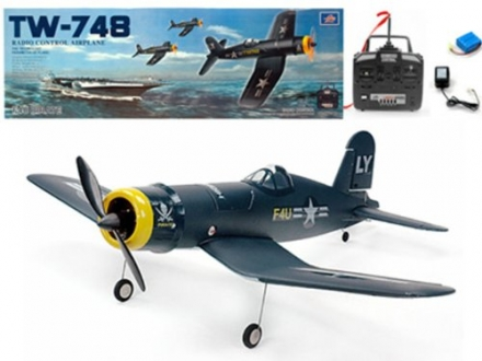 33″ 4ch Ready to Fly Ep F4u Corsair Tw748 Aerobatic Plane