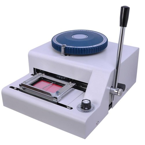 Manual 70 Character Embossing Machine Magnetic Id Pvc Card Credit Card Embpsser Plastic Card Stampin