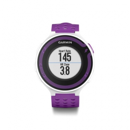 Garmin Forerunner 220 – White/Violet Bundle (Includes Heart Rate Monitor)