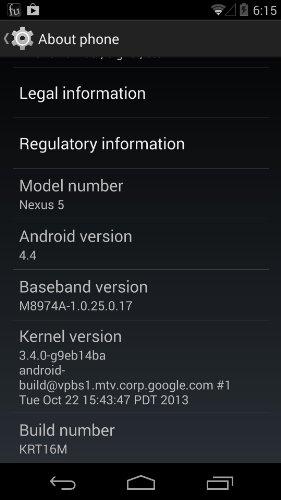 LG Nexus 5 D820 16GB Unlocked GSM 4G LTE Quad-Core Android Smartphone w/ 5″ True HD IPS+ Multi-Touch