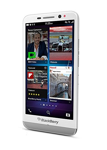 BlackBerry Z30 16GB 4G LTE Unlocked GSM BlackBerry 10.2 OS Phone – White