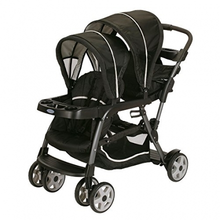 Graco Ready2Grow Classic Connect Double Stroller, Fiji