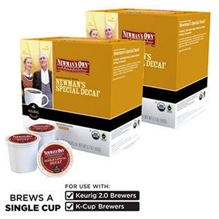 Newman's Own® Decaf Special Blend Coffee 180 K-cup® Packs – COS