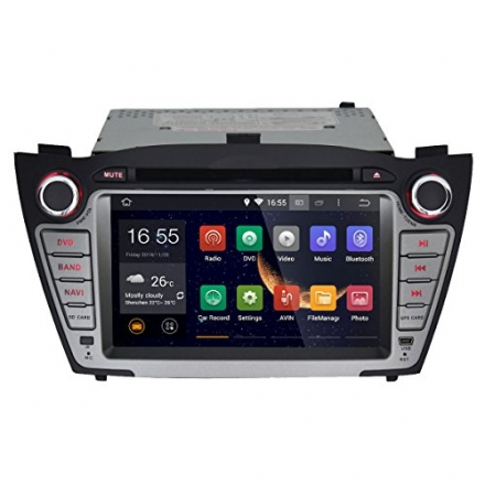 JOYING 7 inch Android 4.4.4 Capacitive HD Touch Screen In Dash Double Din Car DVD Player GPS Navigat