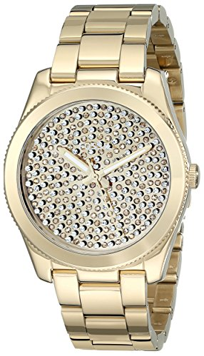 Fossil Women's ES3689 Perfect Boyfriend Three-Hand Stainless Steel Watch – Gold-Tone