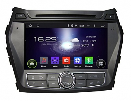 Carfond 7 Inch Android 4.4.4 Double Din Car DVD Player GPS Navi Stereo In Dash Navigation Support Bl