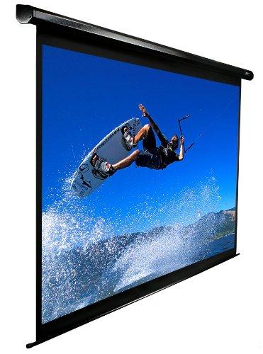 Elite Screens VMax2 Series, Electric Drop Down Projection Screen, 84-inch Diagonal 16:9, Model: VMAX