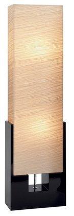 Deco 79 Wood Floor Lamp, 48-Inch, Beige