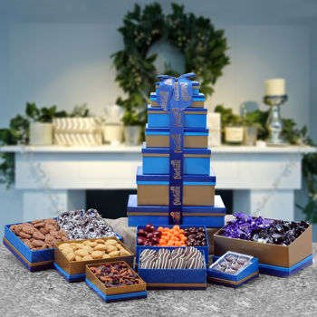 Dilettante Chocolates® Majestic Holiday Tower