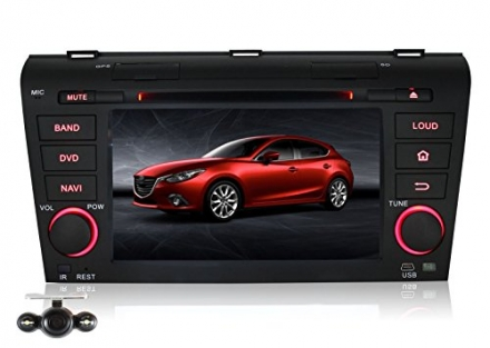 Pumpkin 7 inch For Mazda 3 2004-2009 In Dash HD Touch Screen Car DVD Player GPS/Navi/BT/SD/USB/FM/AM
