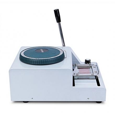 ItWorthy 68-Character Manual PVC Card Embosser Embossing machine Credit ID VIP Stamping Code printer