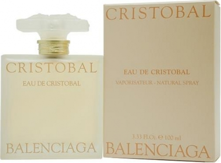 Eau De Cristobal By Balenciaga For Women. Eau De Toilette Spray 3.33 Oz / 100 Ml.