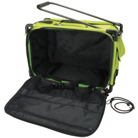 TUTTO Machine On Wheels Case 21″X13-1/4″X12″-Lime
