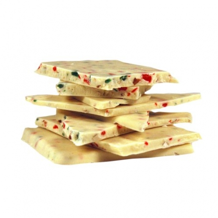 Carolyn's Handmade No.20 White Chocolate Peppermint Bark Bulk, 320 Ounce
