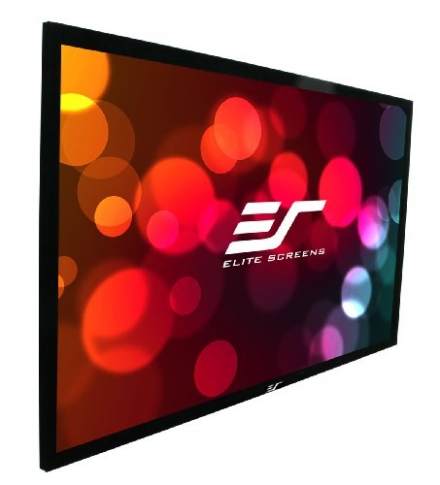 Elite Screens 114 Inch 16:10 SableFrame Fixed Projection Screen (60″Hx96″W)