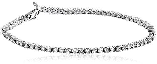 14k Gold 4-Prong Diamond Tennis Bracelet (2 cttw, H-I Color, I1-I2 Clarity)