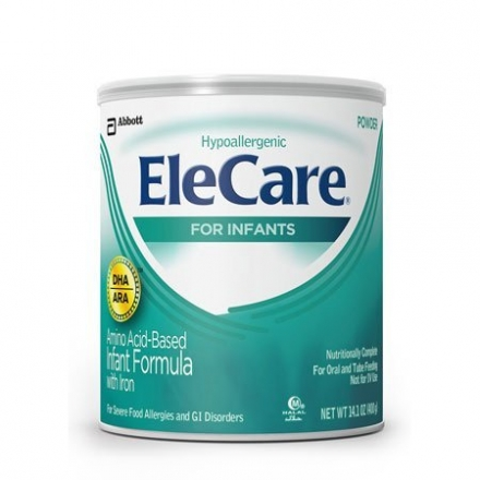 EleCare For Infants Unflavored Powder with DHA/ARA, 14.1OZ (Pack of 6) Gift, Baby, NewBorn, Child
