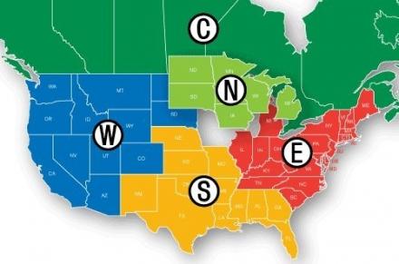 Navionics HotMaps Premium East U.S. Two-Dimensional Lake Maps on SD Card