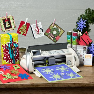 Cricut Expression Holiday Bundle w/Bonus $25 Gift Card, Cartridge, & Vinyl 2 Pack