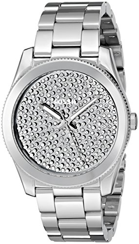 Fossil Women's ES3688 Perfect Boyfriend Three-Hand Stainless Steel Watch – Silver-Tone
