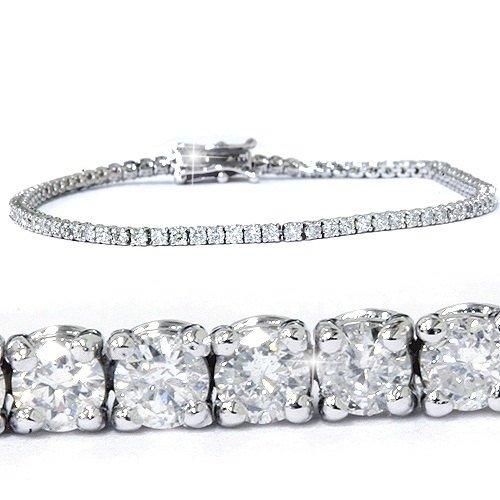 3.00CT Diamond Tennis Bracelet 14K White Gold