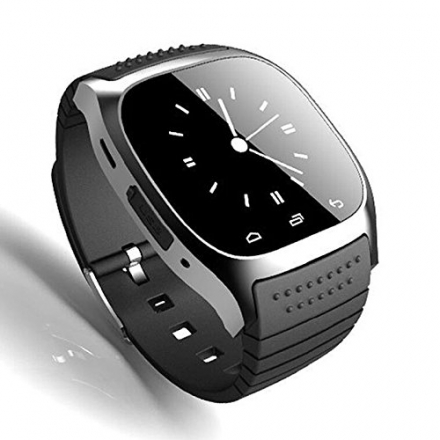 M26 Bluetooth Smart Wrist Watch Phone Mate for Android IOS Iphone 6 HTC Samsung Good Day Gift