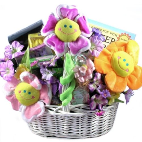 Gift ideas gifts for him gifts for her welikedthis easter easter smiles deluxe easter gift basket great easter basket for kids negle Choice Image