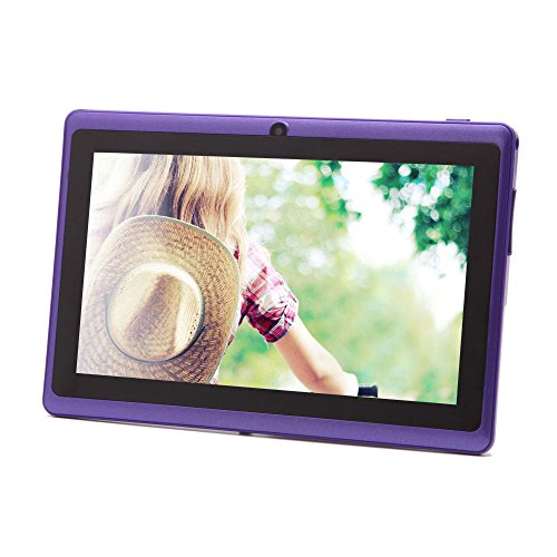 iRulu 7 inch Android Tablet PC, 1024*600 HD Screen with 5 Point Capactive Touch, 4.2 Jelly Bean OS,