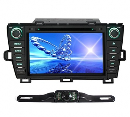 Pumpkin 8 Inch For Toyota Prius 2009-2013 In Dash HD Touch Screen Car DVD Player GPS/BT/USB/SD/FM/AM