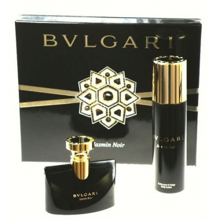 BVLGARI JASMIN NOIR by Bvlgari Gift Set for WOMEN: EAU DE PARFUM SPRAY 3.4 OZ& BODY LOTION 6.8 OZ
