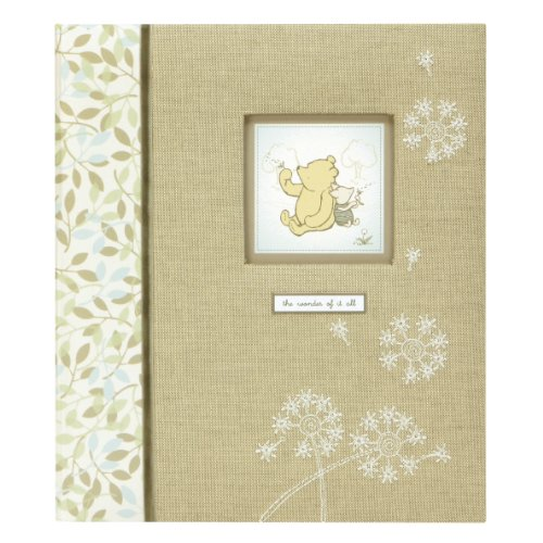 C.R. Gibson Loose-Leaf Memory Book, Classic Pooh