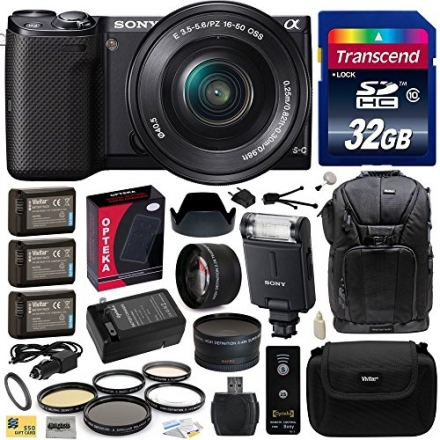 Sony NEX5 NEX-5 NEX-5T NEX5TL NEX-5TL/B Mirrorless Compact Interchangeable Lens Digital Camera with