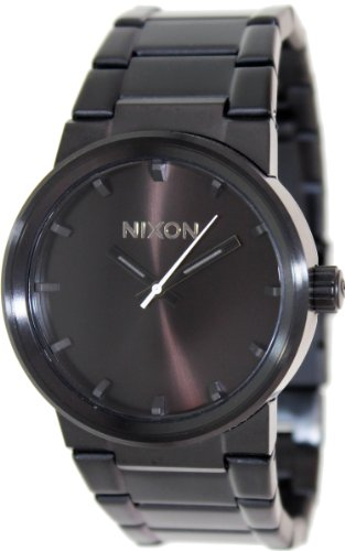 Nixon Cannon Watch – Men's All Black, One Size