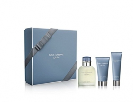 LIGHT BLUE For Men By DOLCE & GABBANA Gift Set