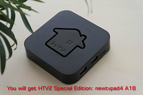 HTV2 Special Edition: newTVpad4 A18. HD / VOD/ Playback / 3D Movies/ XBMC/