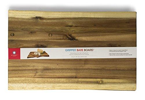 Architec Acacia Gripper Bare Board, Raw Edge, 17 Inch X 11 Inch X .75 Inch