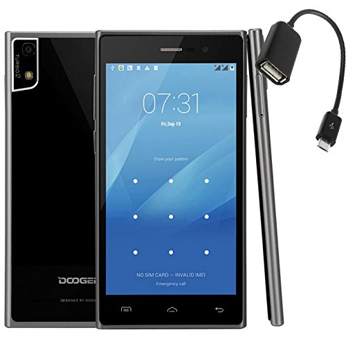 DOOGEE Turbo 2 DG900 5 inch 3G Unlocked OTG (gift-OTG Cable) MTK6592 Octa Core Android 4.4 RAM 2GB R