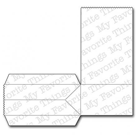 Die-Namics Die-Paper Bag Treat Box