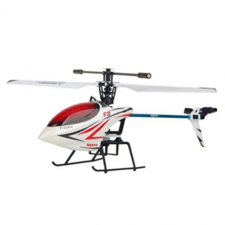 Syma F3 4 Channel 2.4GHz Remote Control RC Helicopter with Gyro RTF White