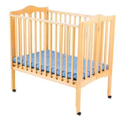 Delta Children Products Portable Mini Crib, Natural