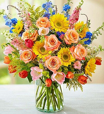 Mother's Day Flowers 1800Flowers – Spring Sensation – Large