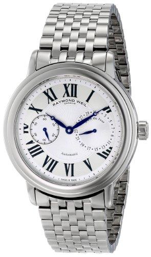 """Raymond Weil Men's 2846-ST-00659 """"Maestro"""" Stainless Steel Watch"""