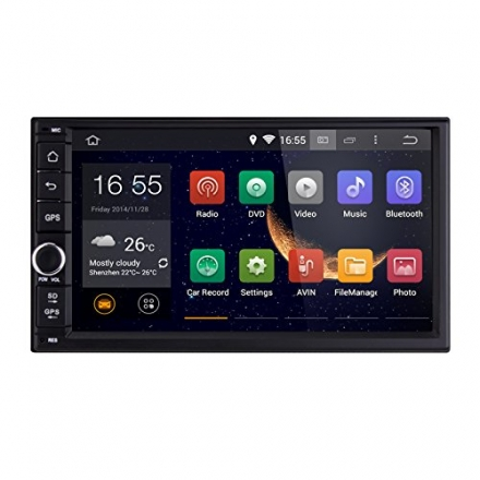 Carfond 7 inch Universal Android 4.4.4 Capacitive HD Touch Screen In Dash 2 Din Car GPS Navigation S