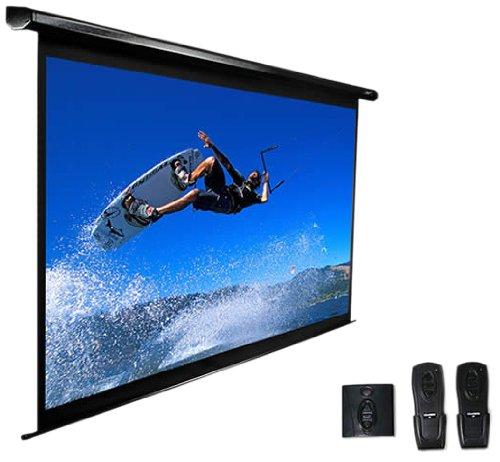 Elite Screens VMAX2 Series, Electric Drop Down Projection Screen, 100-inch Diagonal 4:3, Model: VMAX