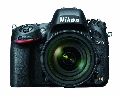 Nikon D610 24.3 MP CMOS FX-Format Digital SLR Camera with 24-85mm f/3.5-4.5G ED VR AF-S Nikkor Lens