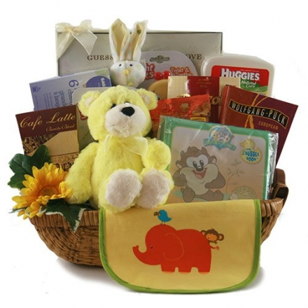 Oh Baby! Baby Gift Basket